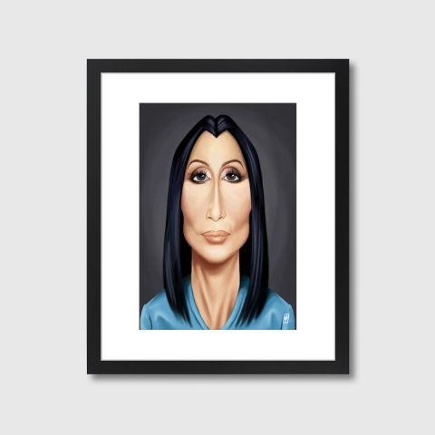 Celebrity Sunday - Cher | Monde Mosaic art | decor | wall art | inspiration | caricatures | home decor | idea | humor | gifts