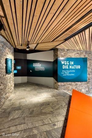 A HISTORY OF  FOREST AND PEOPLE  Permanent exhibition at the visitor center Hans-Eisenmann-Haus   Bavarian Forest National Park, Neuschönau, Germany 2010  Holzer Kobler Architekturen