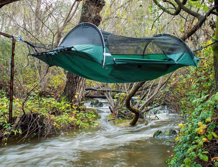 Blue Ridge #Camping #Hammocks by Lawson Hammock  Perfect abode for camping!