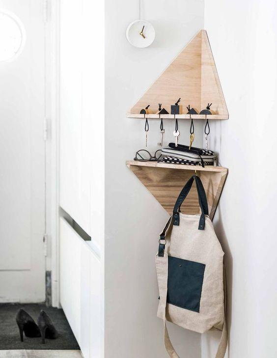 25+ Kreativ einzigartige DIY Ecke Regale für Wohnzimmer zu versuchen – Wohnideen