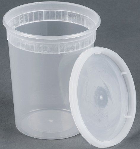 25 sets 32oz plastic soup/Food container with lids - http://alternative-health.kindle-free-books.com/25-sets-32oz-plastic-soupfood-container-with-lids/