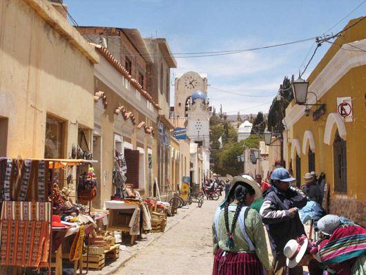 Tilcara – Jujuy (Provincia del noroeste, lindando con Bolivia)