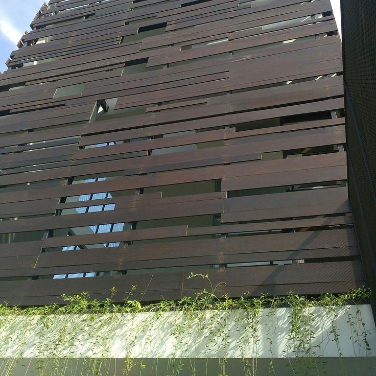 Wood facade (2)
