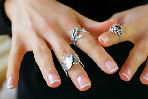 Yaprak Eklem Yüzük, Ayarlanabilir / Antik Gümüş, Yüzük, Takimania - 1