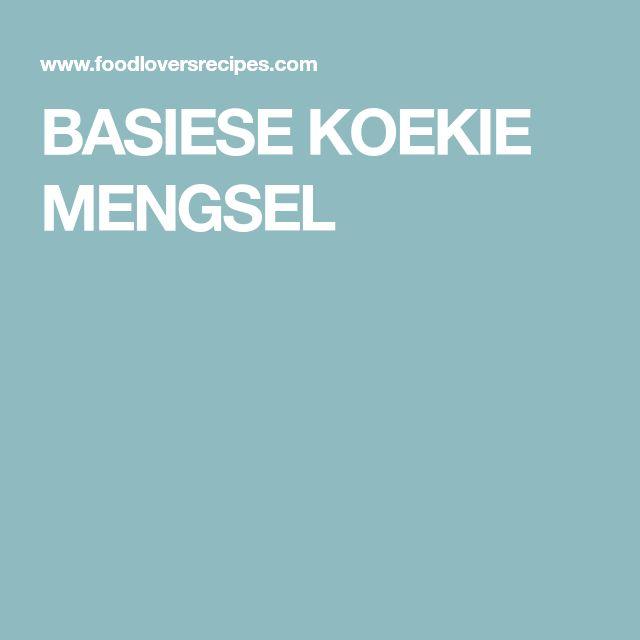 BASIESE KOEKIE MENGSEL