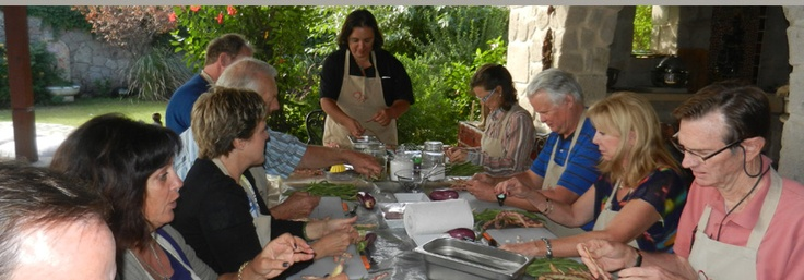 a fabulous way to spend a week in Bodrum...cooking at Yarbasan