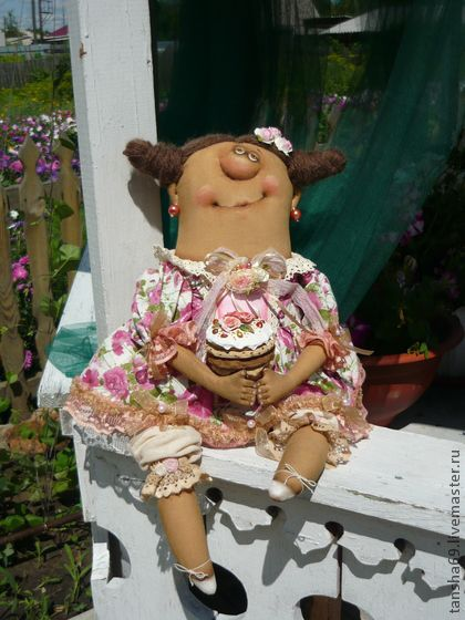 Коллекционные куклы ручной работы. Ярмарка Мастеров - ручная работа Сластена…