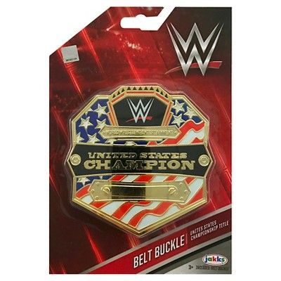 Wwe United States Championship Title Belt Buckle, Boy's