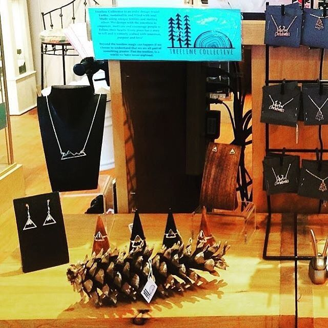 Join Treeline Collective on a journey to the mountains with their #mountain #jewelry line - now available in our #Whistler village shop!   Photo: @treeline_collective .  .  .  #jewellery #handmade #handcrafted #shoplocal #supportlocal