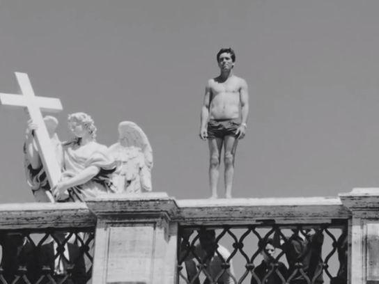Franco Citti en Accattone (1961), Pier Paolo Pasolini.