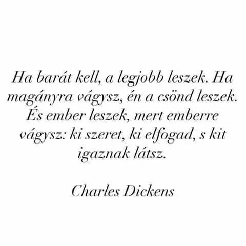 Charles Dickens idézet