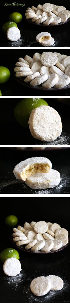 These Lime Meltaways are easy to make and has an amazing balance of flavor. The tang from the lime pairs perfectly with the sweetness of the sugar coating. As the name suggests, these lime meltaways are really so soft and literally melts away in your mouth.