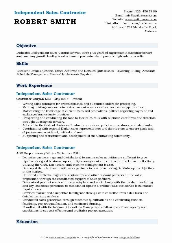 Independent Contractor Resume Sample Awesome Sales Contractor Resume Samples Dental Hygiene Resume Resume Security Resume