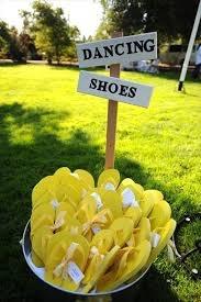 Sandalias para bailar :)