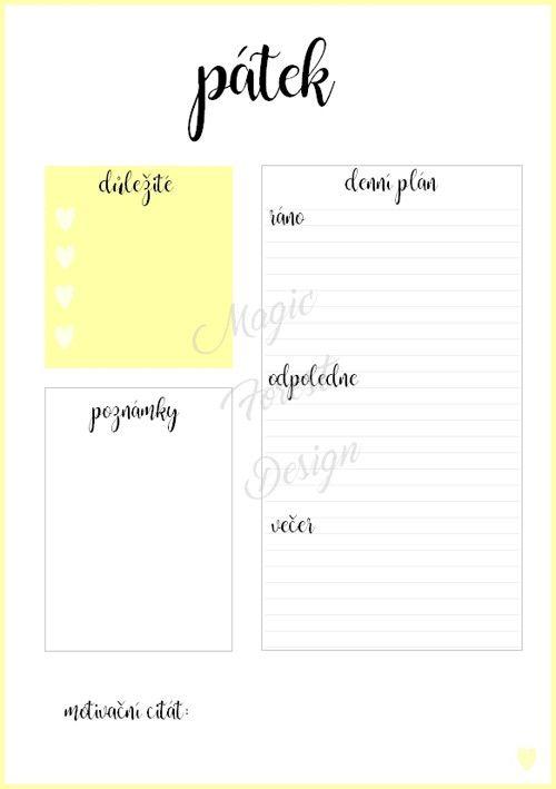 Sada - modrá #daily #planner #diary #diář #plánovací #plánovač  Chcete si hezky uspořádat svůj čas? Pak si objednejte tyto denní plánovače. S nimi zaručeně na nic nezapomenete. Tento denní plán je velikosti A5 a hodí se například do diáře.