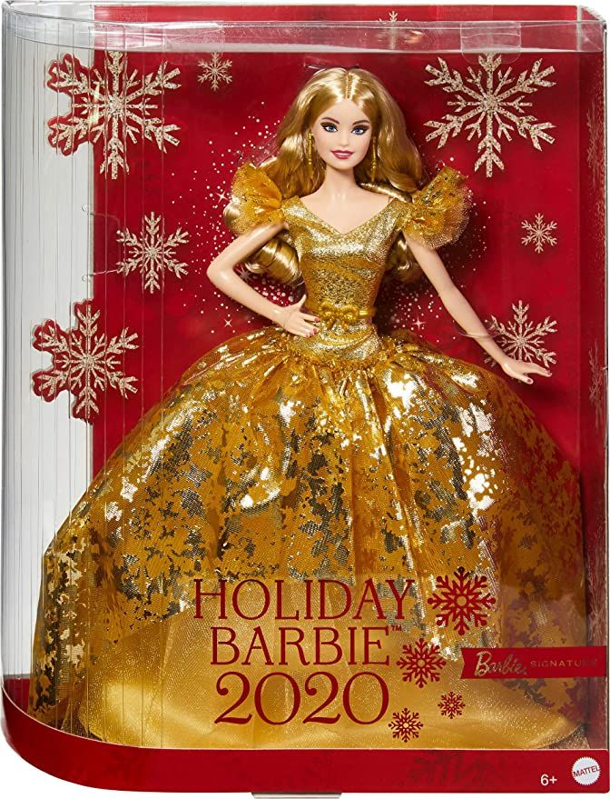 Holiday Barbie 2020 In 2020 Holiday Barbie Collection Holiday Barbie Christmas Barbie