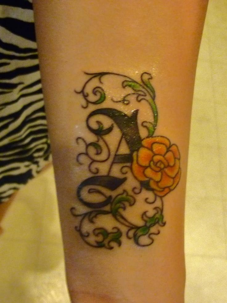 Birth Flower Tattoos: Cute October Birth Flower Tattoo