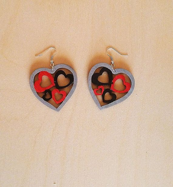 Check out this item in my Etsy shop https://www.etsy.com/listing/495429017/handmade-wooden-earrings-heart-with