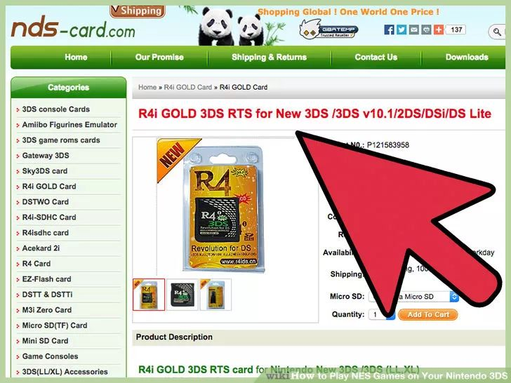 Use R4i Gold to play NES on your 3DS