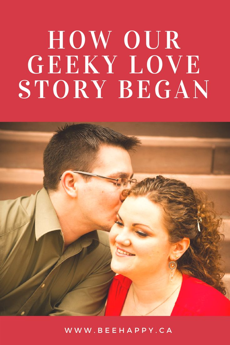 The story of how our nerdy romance got started 14 years ago!