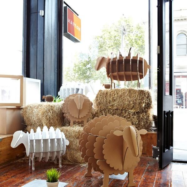 karton cardboard furniture. the barnyard method ram u2013 karton cardboard furniture