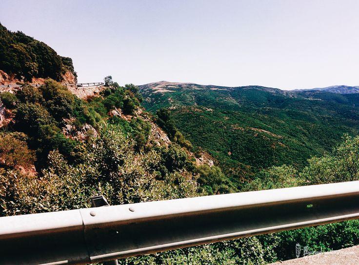 Les routes de Sardaigne :)