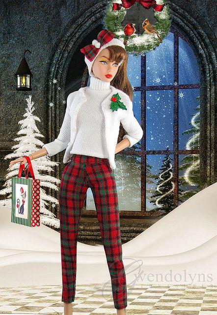 Poppy Christmas 2 by Gwendolyns Treasures, via Flickr
