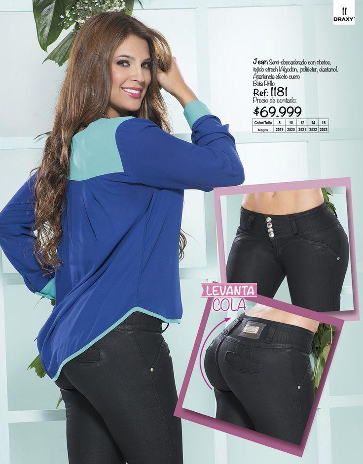 Jean Levantacola 1181 — Venta de Jeans Colombianos Online