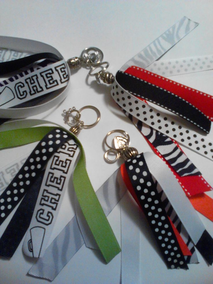 Keychain  Custom made with your team colors $7.50