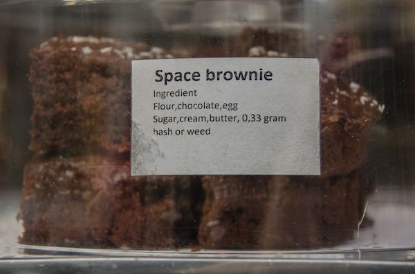 Space Cakes? Amsterdam treats