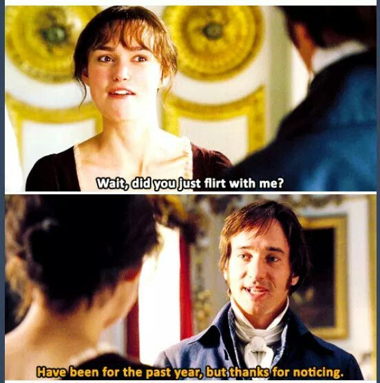 Best 25 pride and prejudice ideas on pinterest pride for Funny movie pictures with captions