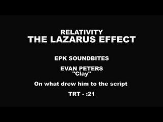 The Lazarus Effect: Evan Peters Interview --  -- http://www.movieweb.com/movie/the-lazarus-effect-2015/evan-peters-interview