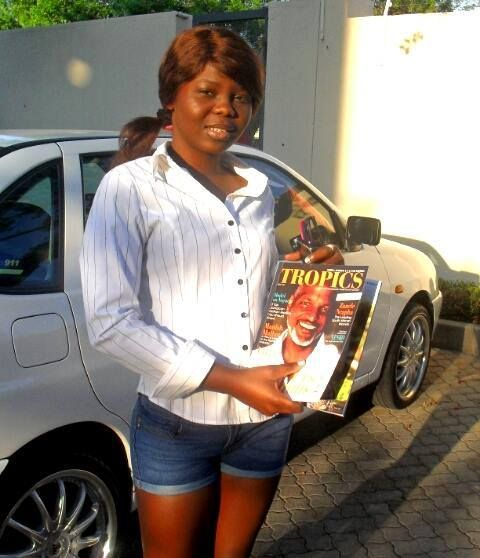 #Selfie • Marcelle Joselya (Johannesburg, SOUTH AFRICA) is a proud reader of #TropicsMagazine.