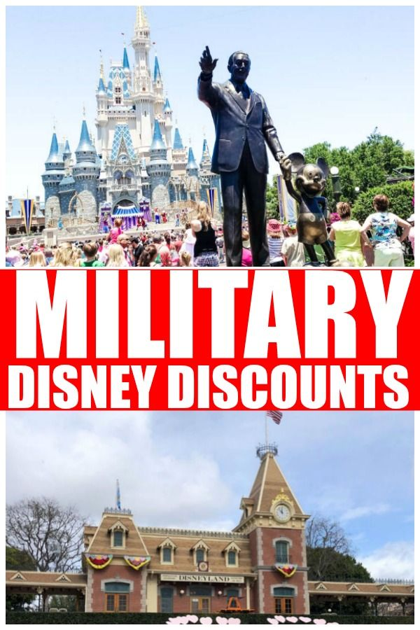 Military Disney Discounts If You Are A Military Family Active Duty Reserve Or Veteran T Discount Disney World Tickets Disney World Tickets Disney Discounts