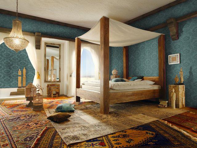 die 25 besten ideen zu orientalisches schlafzimmer auf pinterest boh me schlafzimmer magenta. Black Bedroom Furniture Sets. Home Design Ideas
