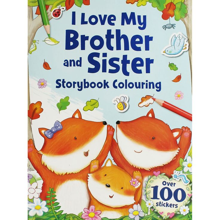 Buy I Love My Brother And Sister Storybook Colouring by Igloo Books online from The Works. Visit now to browse our huge range of products at great prices.