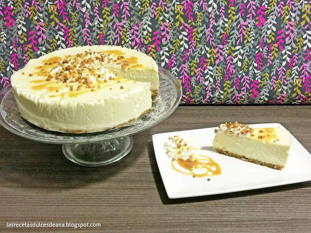 Las recetas dulces de Ana: Tarta cremosa de chocolate blanco y mascarpone