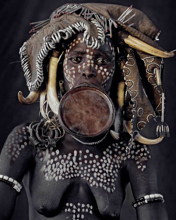 Mursi Tribe, Ethiopia. Photo by Jimmy Nelson | Yellowtrace