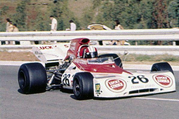 1973 GP RPA (Kyalami) Tyrrell 004 - Ford (Eddie Keizan)
