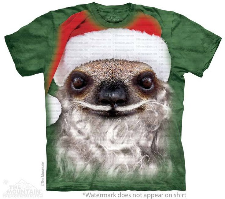 """Santa Sloth T-Shirt - BLACK FRIDAY SALE - 10$ OFF YOUR 35+ ORDER - USE CODE: """"BLACKTEN"""" - 25$ OFF YOUR 75$+ ORDER - USE CODE: """"BLACK25""""  EXPIRES 11/29/13 MIDNIGHT PST  EPIC T-SHIRTS - CHRISTMAS GIFTS BLACK FRIDAY - LARGE DISCOUNT T-SHIRTS - T-SHIRTS FOR KIDS - T-SHIRTS FOR WOMEN - AWESOME T-SHIRTS - BLACK FRIDAY SALE - BLACK FRIDAY T-SHIRTS"""