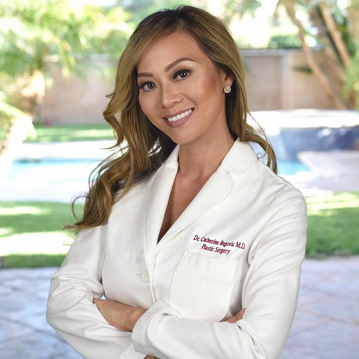 She's got it all! Beauty & Brains   Dr. Cat Begovic is a mother, wife and Harvard Graduate Board Certified Plastic Surgeon out of Beverly Hills, CA --  Check her out on Instagram