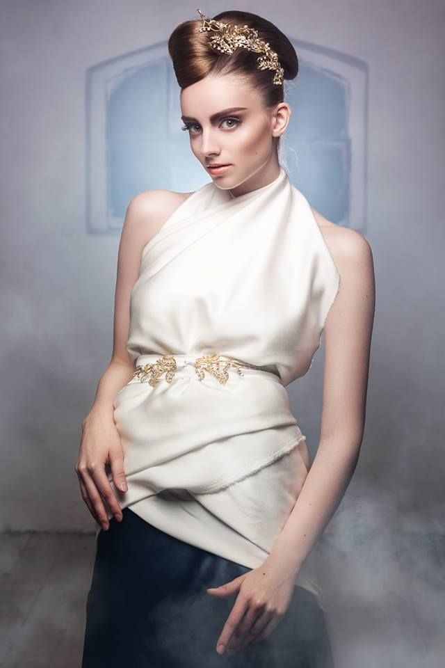Photography: Daniel Ilinca - idaniphotography Make-up: Mirela Fazakas Hairstyle: Alina Maria Crisan - ACHA Outfit: Anca Crisan Model: Esthera Balintfi - Graziela Model Agency Location: Moara Rasarit