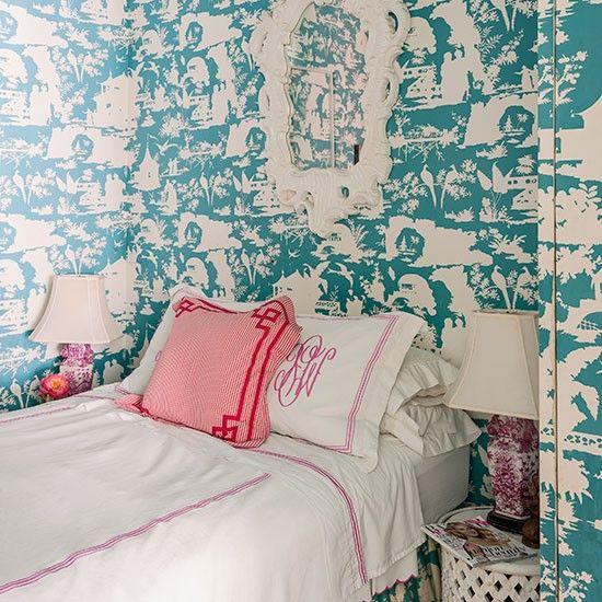 1000+ Ideas About Bedroom Wallpaper Designs On Pinterest