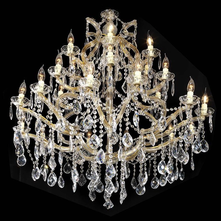 Mejores 47 imgenes de antique chandeliers en pinterest a large glass crystal chandelier in the louis xvi manner late 20th century aloadofball Images