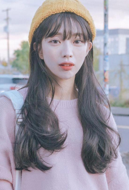 Koreanische Frisuren und Mode | Offizielle koreanische Mode #popularkoreanfashion  #frisuren #koreanische #offizielle #popularkoreanfashion