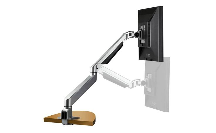 Avoid leaning your spine forward which only causes pain and tension. This Monitor Arm has your monitor come to you to avoid unnecessary pressure to your back.  http://www.healthyback.com/products/Prestige/Healthy-back-ergonomic-monitor-arm/1287