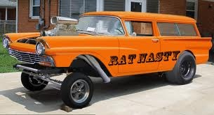 ford gassers ....