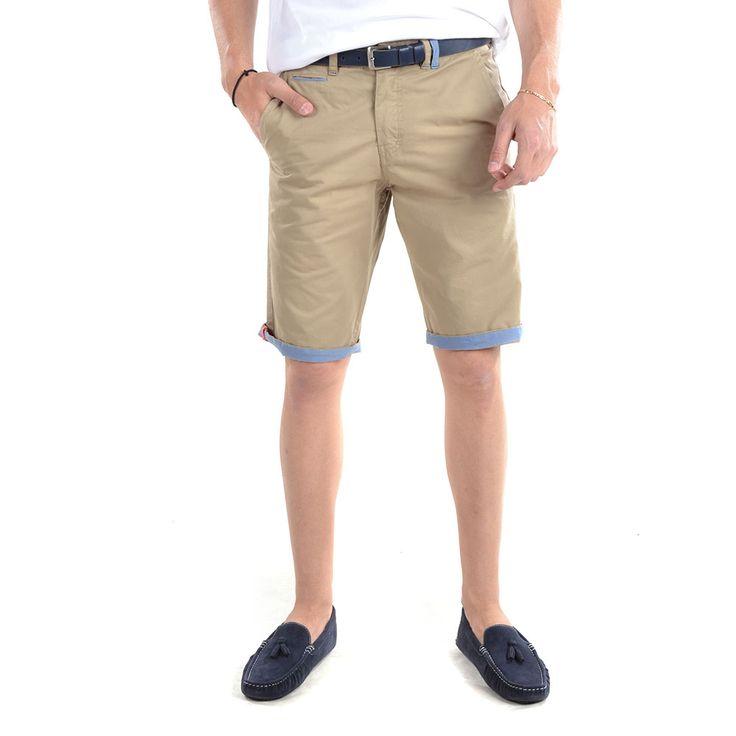 Camaro Short Pants-16001-751-16-BEIGE - http://men.bybrand.gr/camaro-short-pants-16001-751-16-beige/
