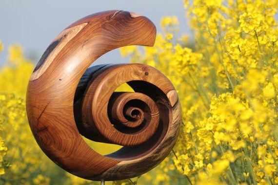 Spirale by HolzKunstWerk on Etsy