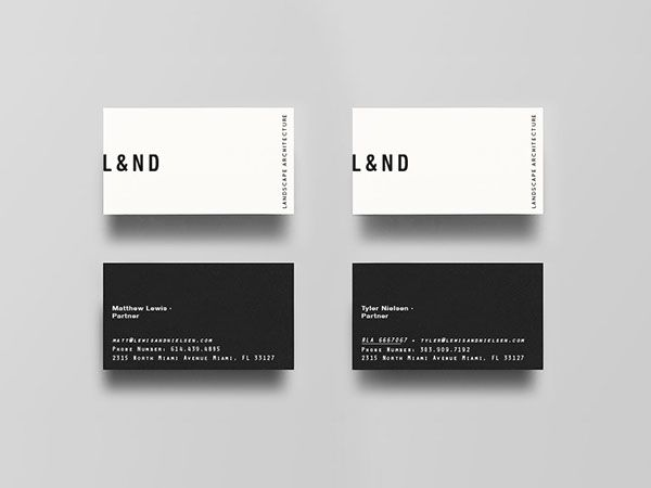 245 best business cards images on pinterest graphics business lewis nielsen para on behance reheart Images